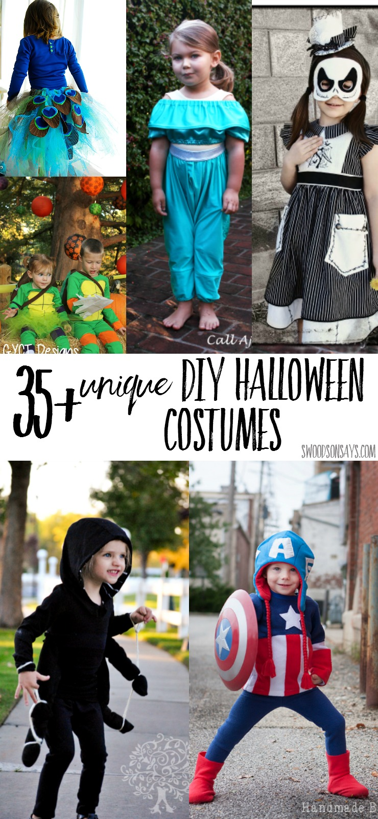 35 unique diy halloween costumes for kids sew your kiddo up a comfy