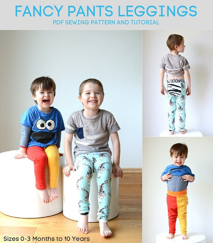 color blocked mismatch sewing pattern