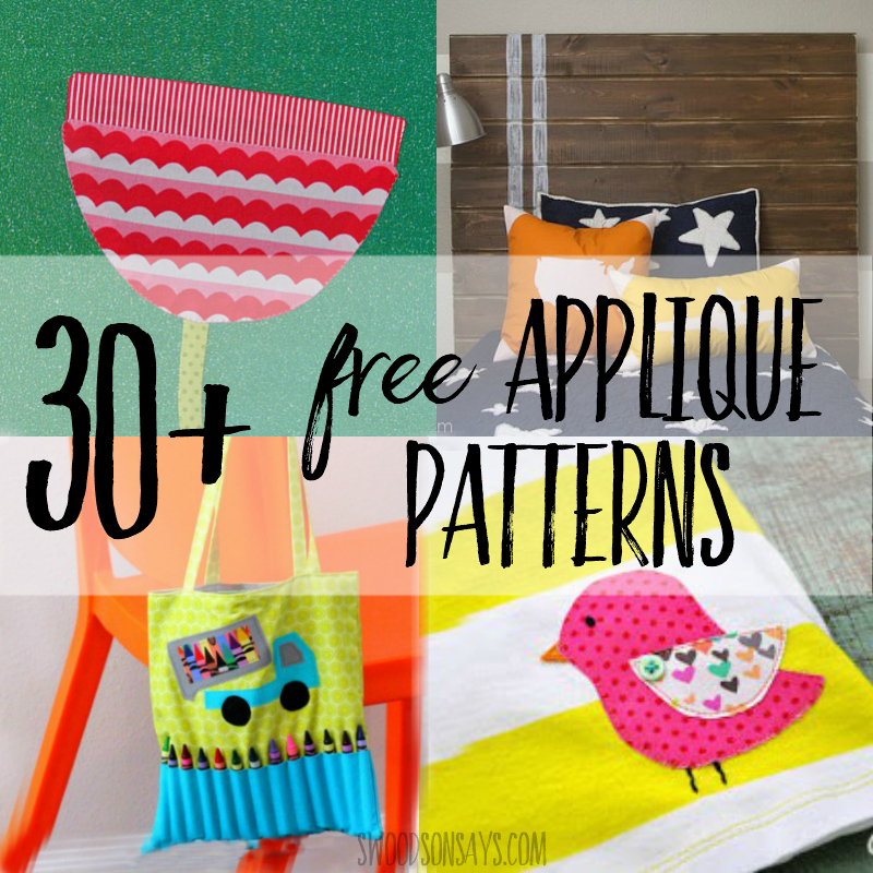free applique patterns you can download