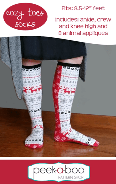 sewing pattern for socks