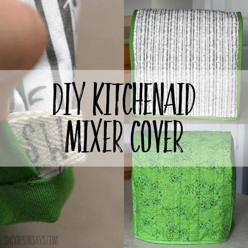 Reversible Kitchenaid Mixer Cover Swoodson Says