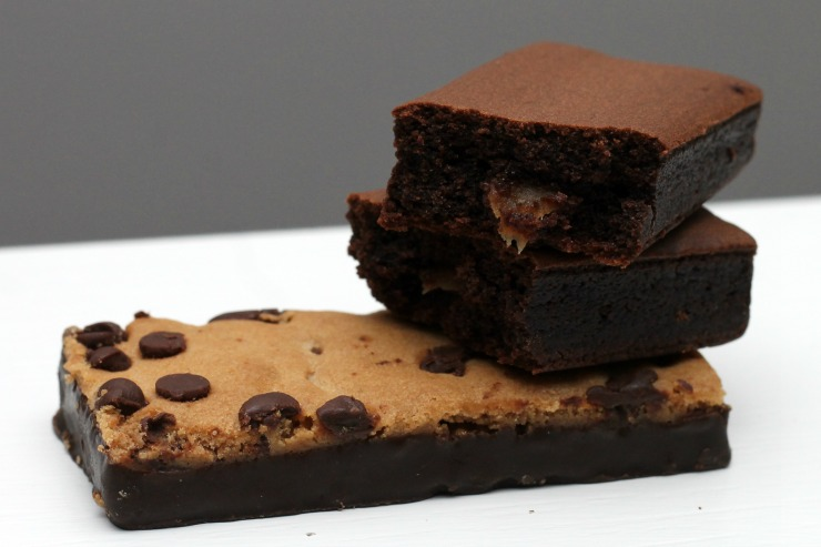 brownie and cookie bar
