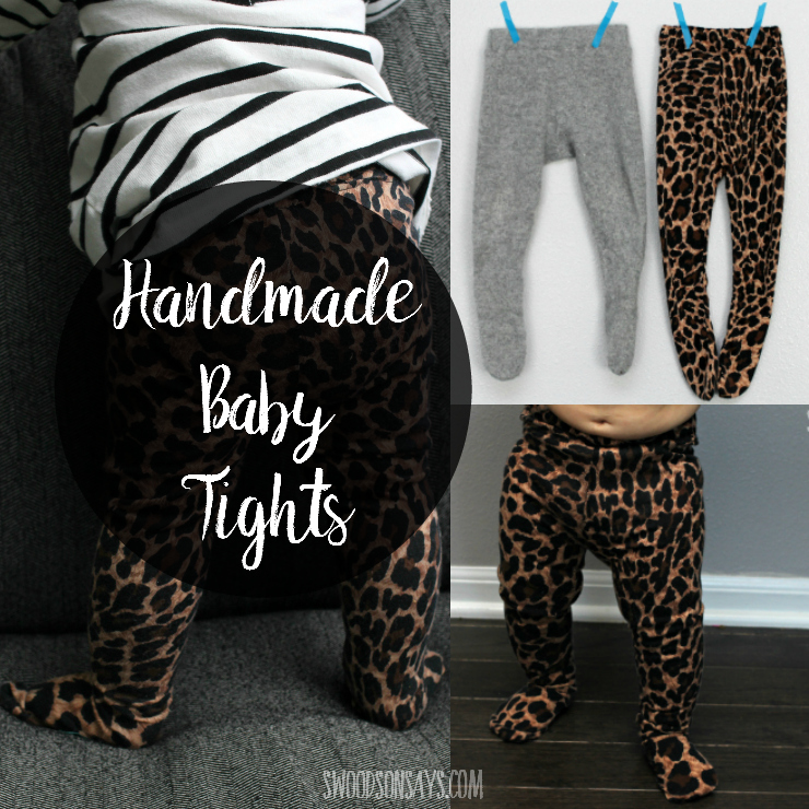 handmade baby tights