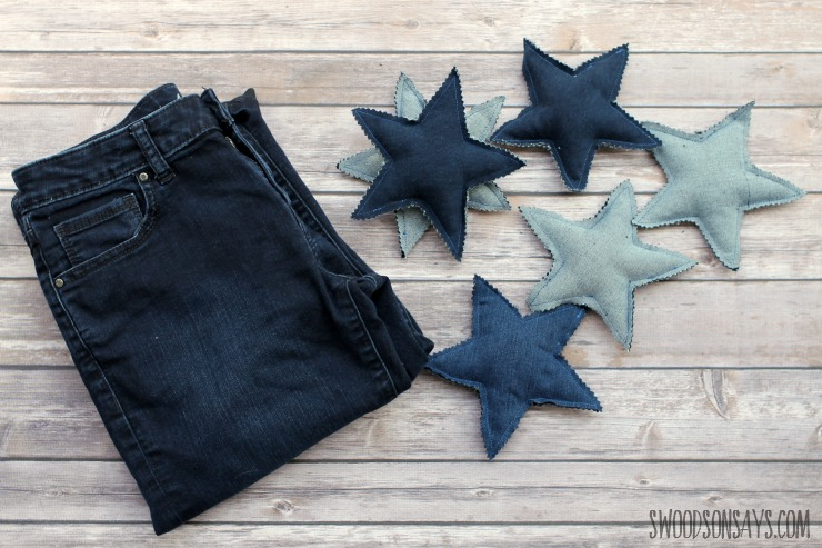 upcycled toy from jeans