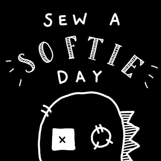 Sew A Softie Day logo