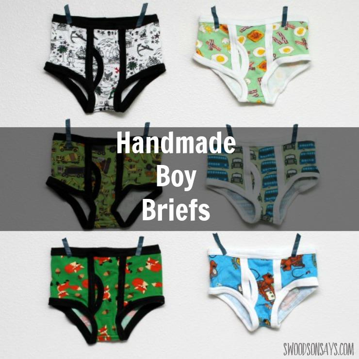 Captain Underpants\' Boys Briefs - Momma Quail Patterns - Swoodson Says