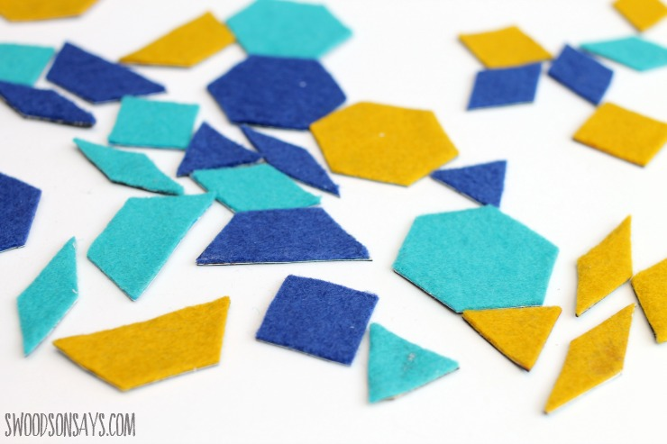 ideas for felt scraps