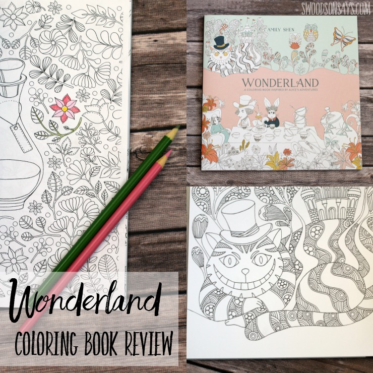 Love Alice In Wonderland? Check out this dreamy adult coloring book, with beautiful Alice-inspired drawings and quirky prompts. Perfect gift to give a Carroll fan!