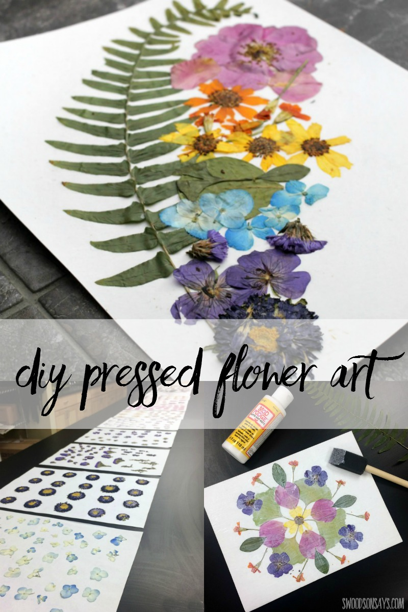 Dried and pressed flowers make wonderful natural craft supplies! Check out some examples of diy pressed flower art for a fun nature craft for adults.