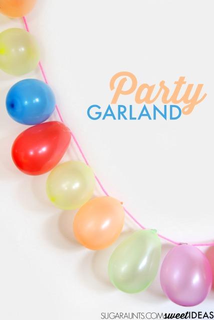 party-balloon-garland