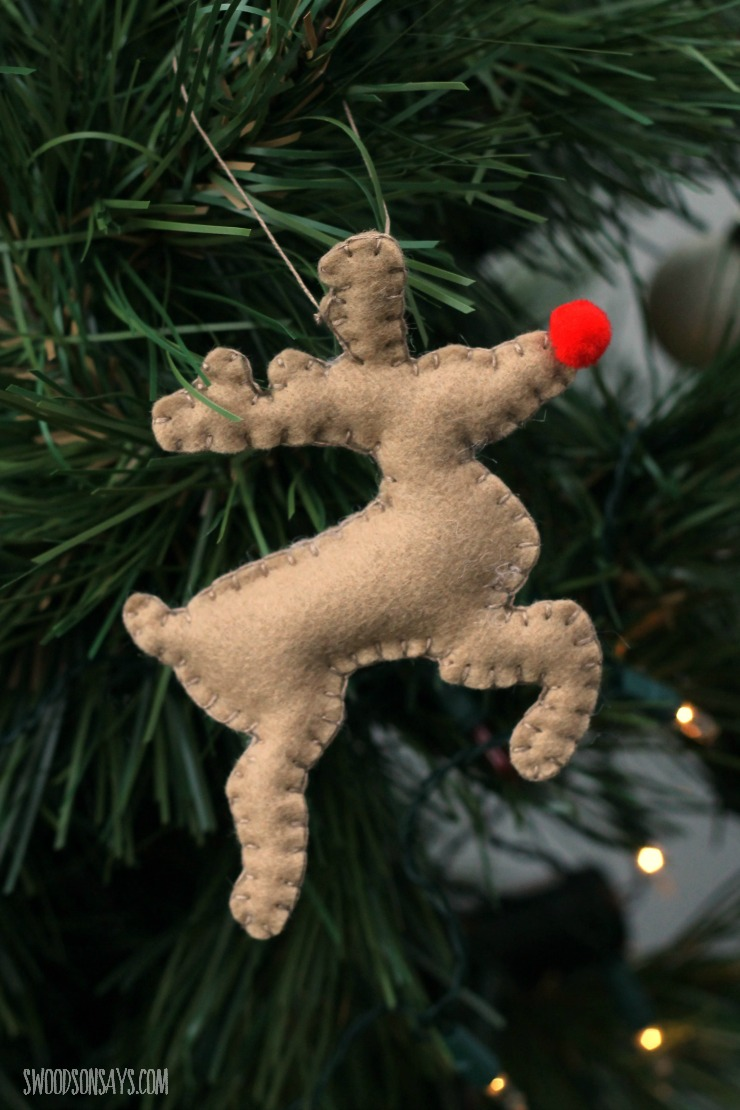free felt christmas ornament patterns