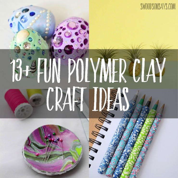 Easy clay craft tutorials for a fun afternoon making something with your friends - these are all beginner friendly clay crafts with picture tutorials and adorable results!