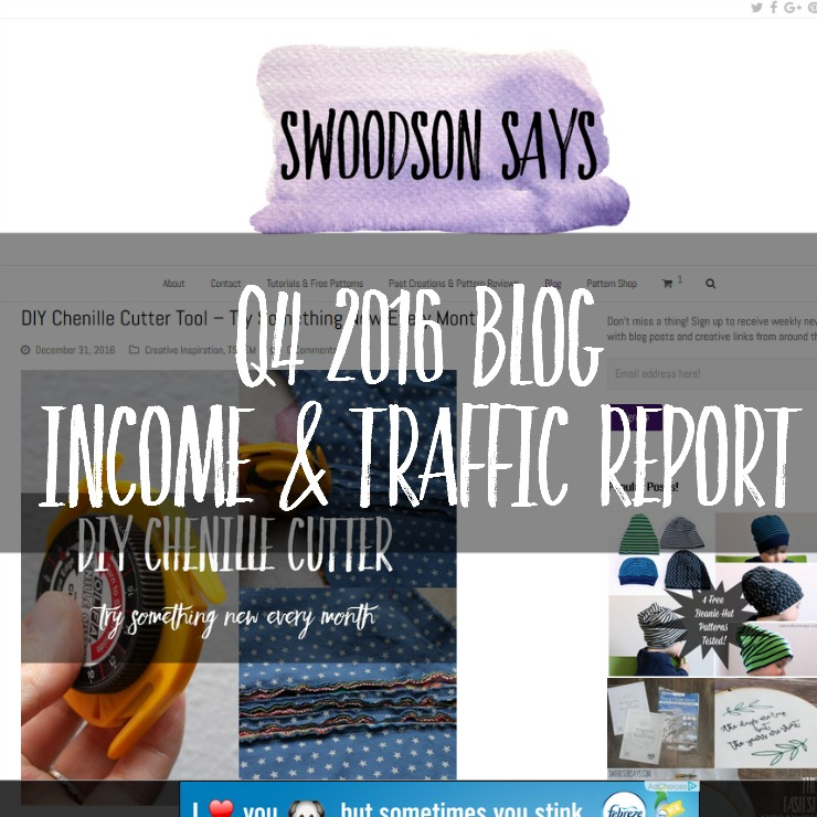 q4 blog income report