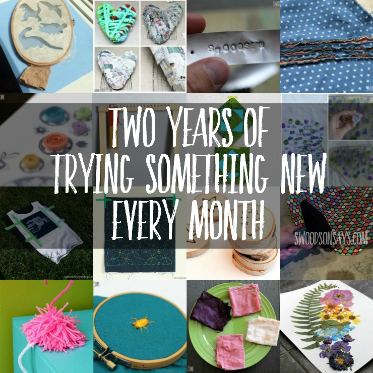 Two Years of Trying Something New Every Month - TSNEM