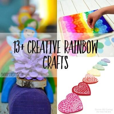13+ Creative Rainbow Crafts To Make