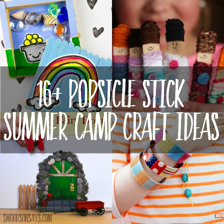 Craft Sticks Are The Perfect Supply For Summer Camp
