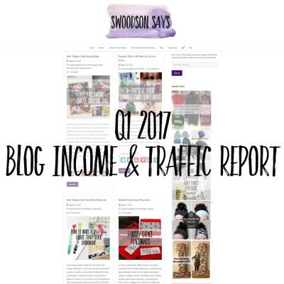 Q1 2017 – Blog Traffic & Income Report