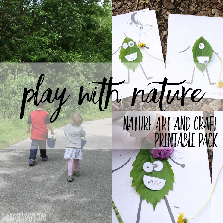Nature Art Ideas Nature Crafts For Kids Printable Pdf Pack
