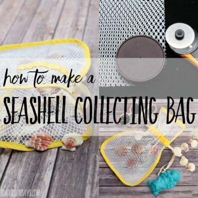 How To Make A Seashell Collecting Bag