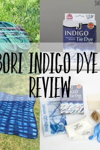 Shibori Indigo Dye Kit Review - see what is inside this cheap kit, that dyes up to 15 shirts!