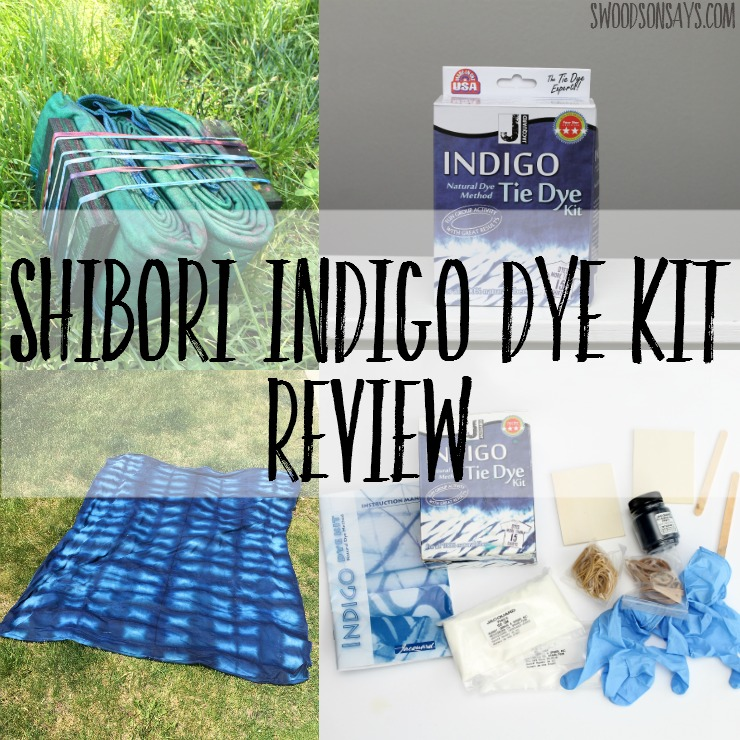 Shibori Indigo Dye Kit Review - see what is inside this cheap kit, that dyes up to 15 shirts!