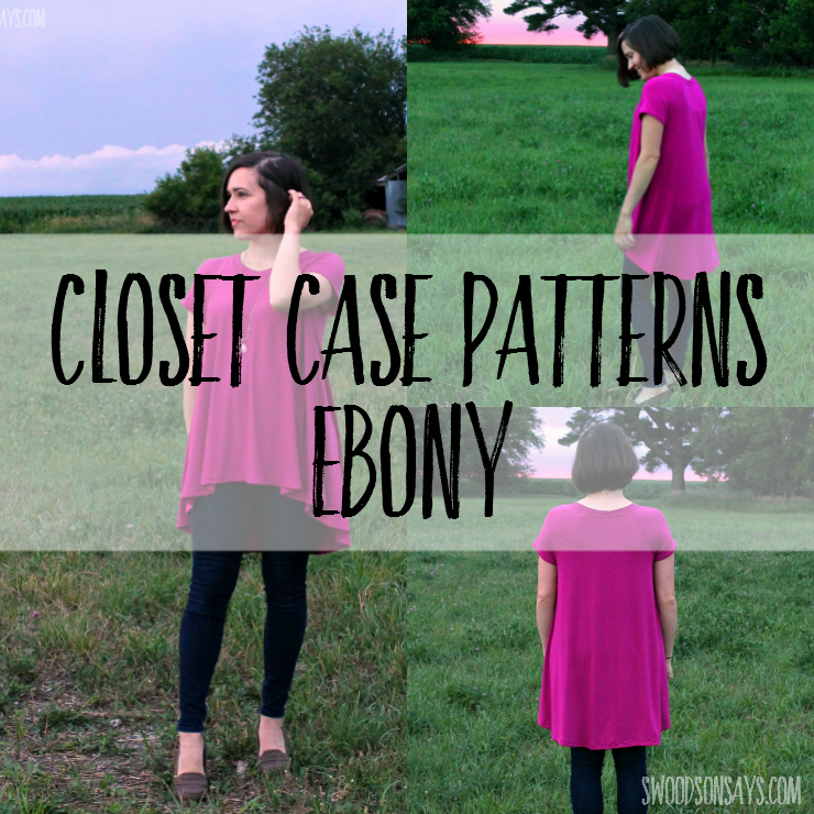 A pattern review of the Closet Case Patterns Ebony Tee