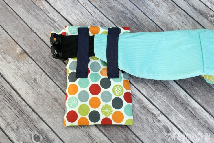 elastic babywearing pouch