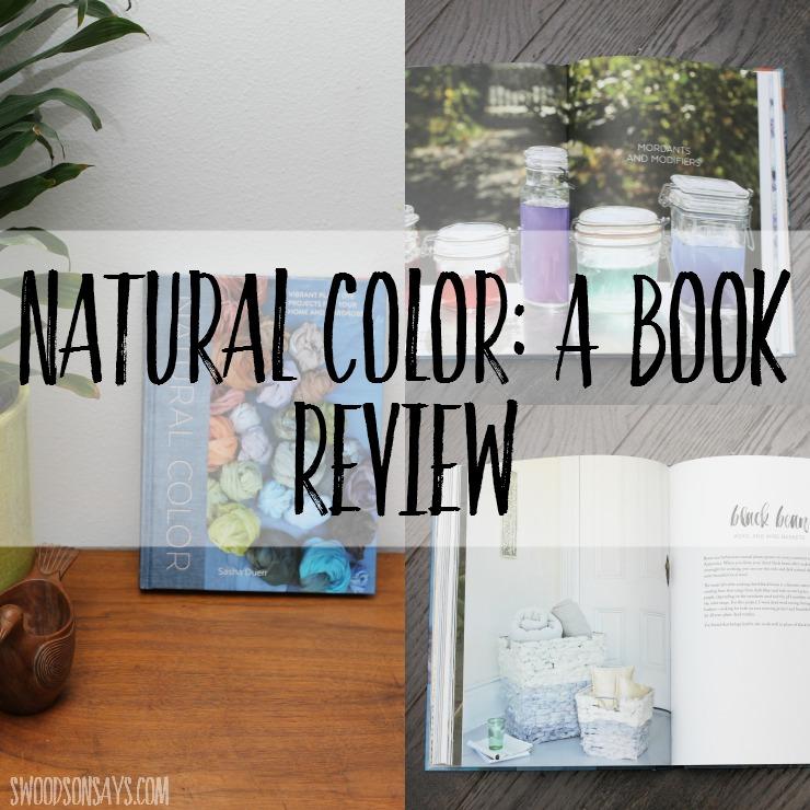 Natural dye book
