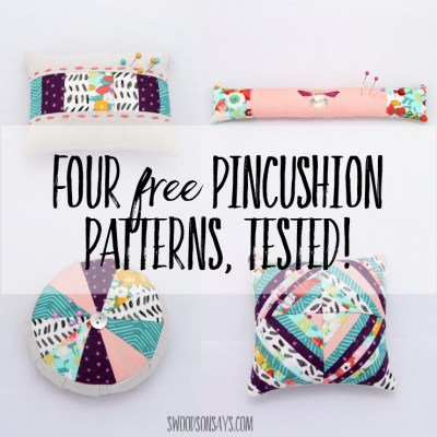 4 Free Pincushion Sewing Tutorials – Tested!