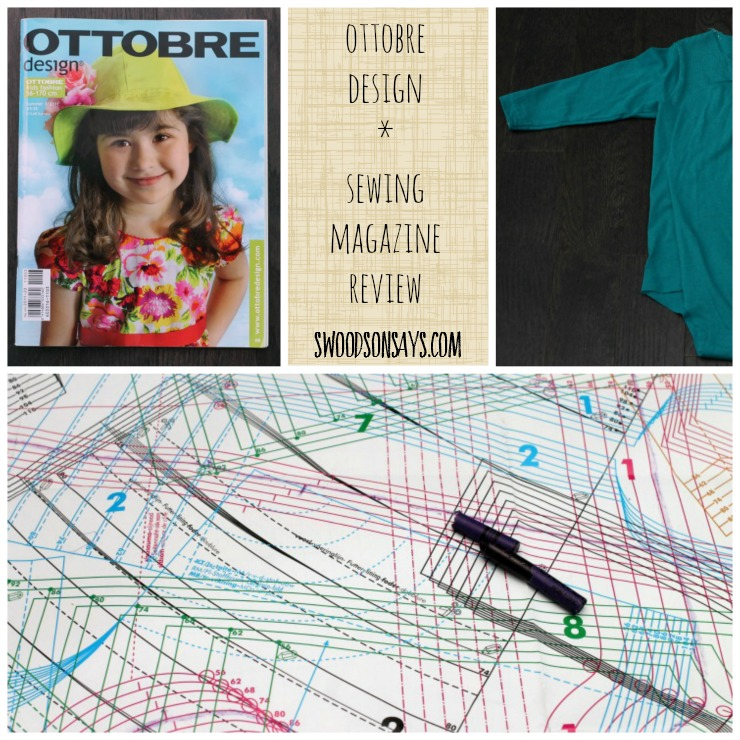 What is an Ottobre Magazine? I'm reviewing what it contains, and what the patterns look like. Swoodsonsays.com