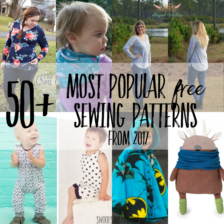 50+ Most Popular Free PDF Patterns in 2017 - Swoodson Says
