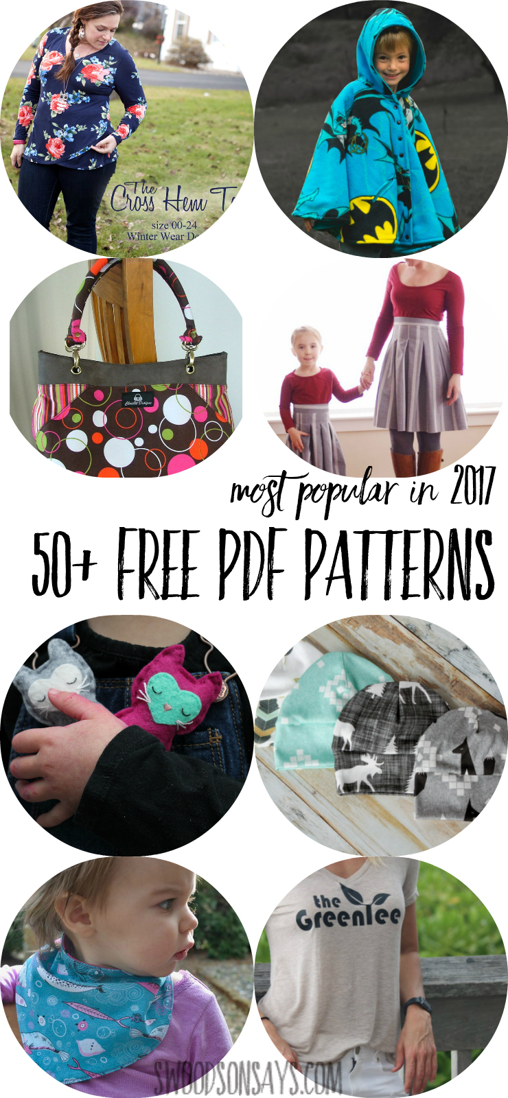50 most popular free pdf patterns in 2017 swoodson says check out this huge list of free pdf sewing patterns for kids adults home jeuxipadfo Gallery