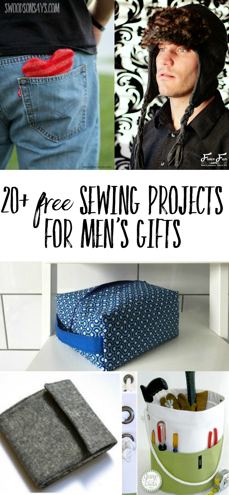 97c06aa63 20+ Free Sewing Projects for Men's Gifts – OBSiGeN