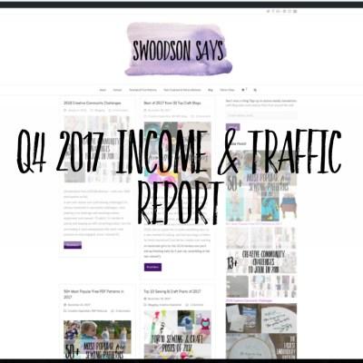 2017 Q4 / Income & Traffic Report