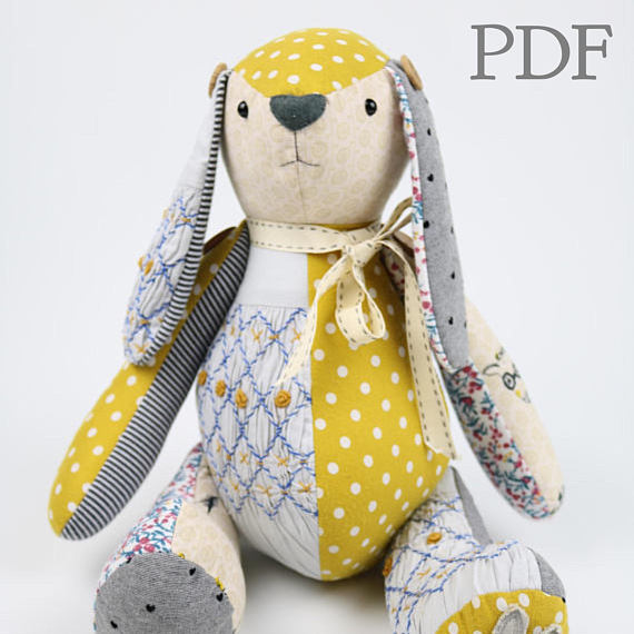 50 Stuffed Bunny Sewing Patterns Swoodson Says