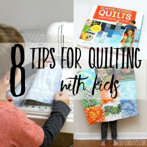 Easy Quilt Projects for Kids