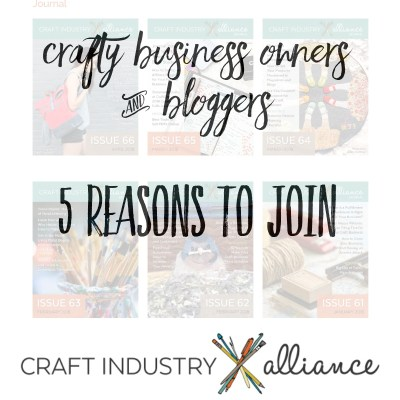5 Reasons to join the Craft Industry Alliance