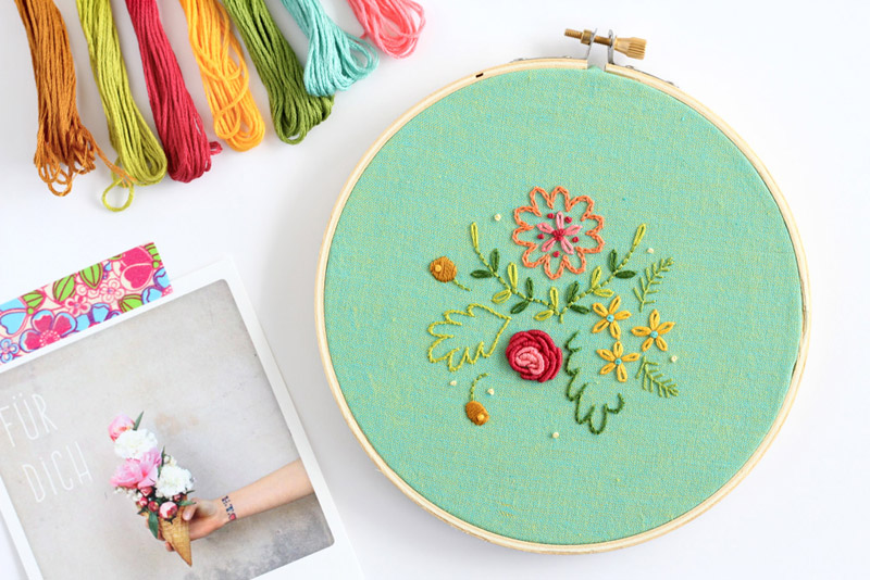 15+ Free Hand Embroidery Patterns
