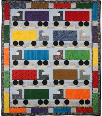 semi truck quilt