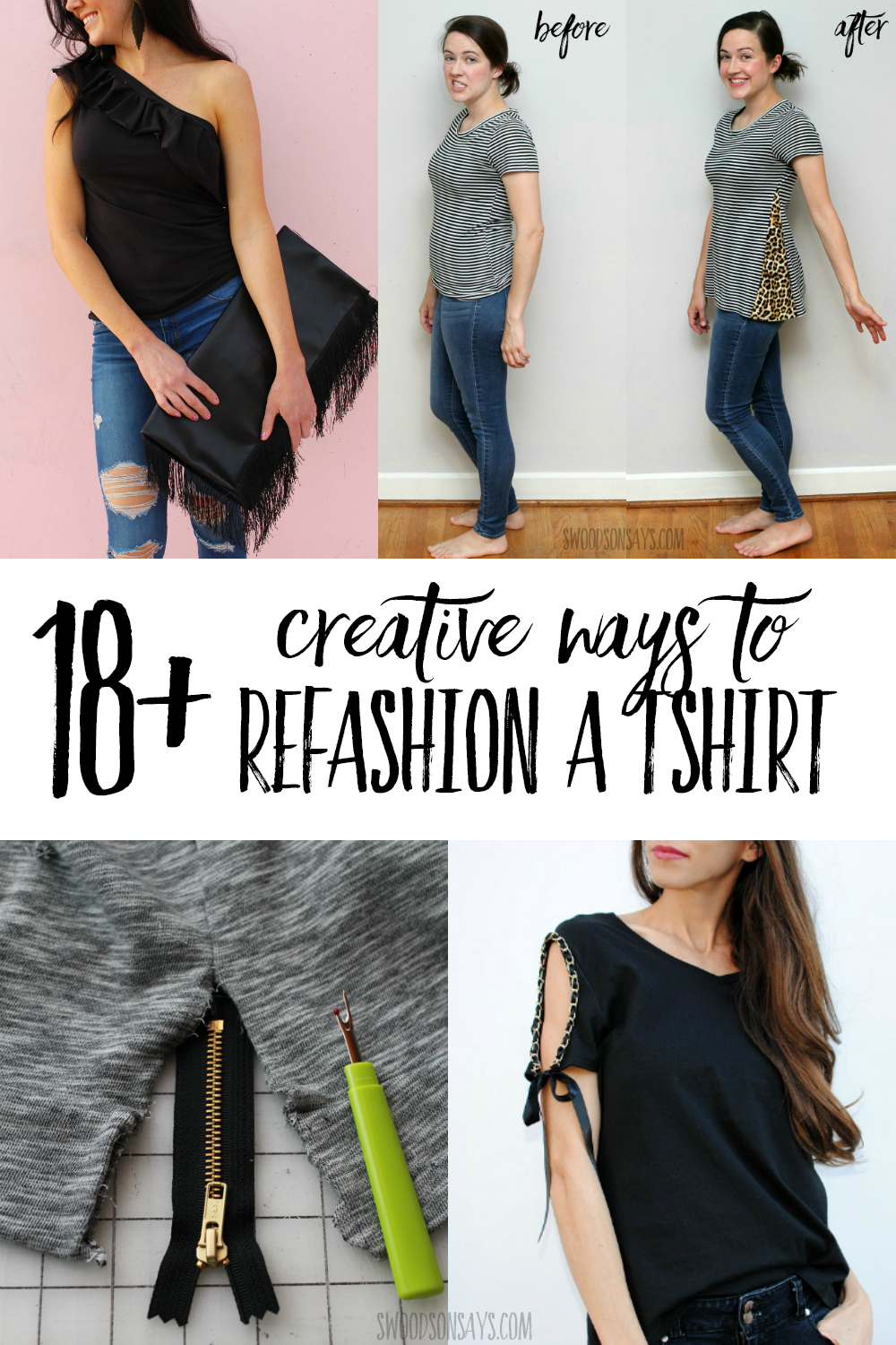 tshirt refashion ideas