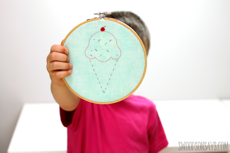 10 Free Simple Embroidery Patterns For Kids Swoodson Says