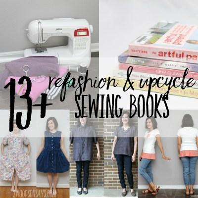 Books on refashioning clothing & upcycle sewing