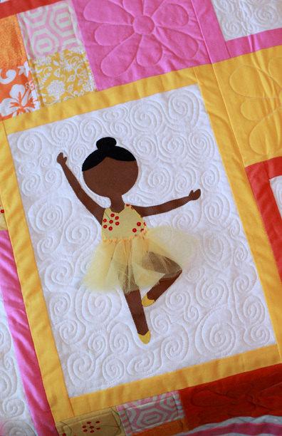 ballerina quilt pattern