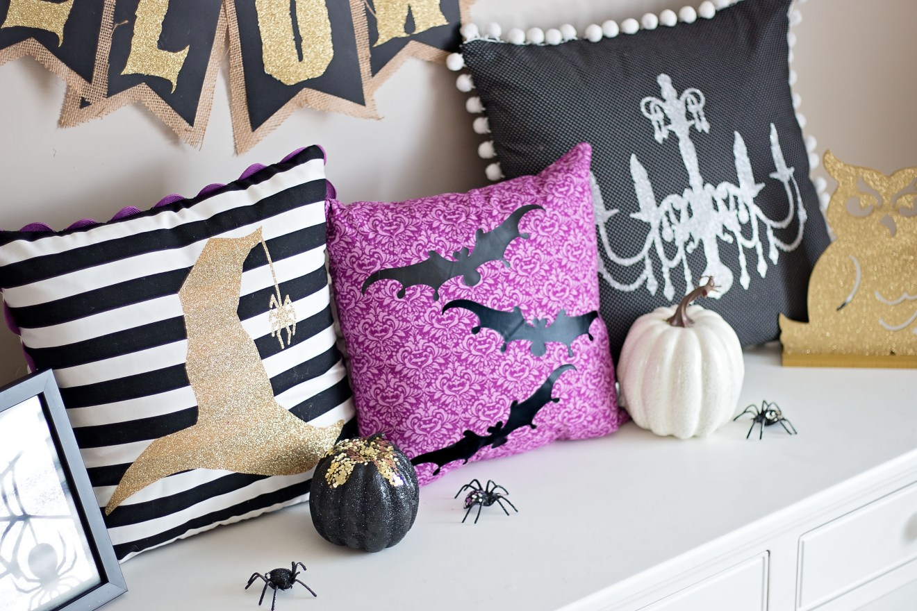 easy halloween pillows to sew