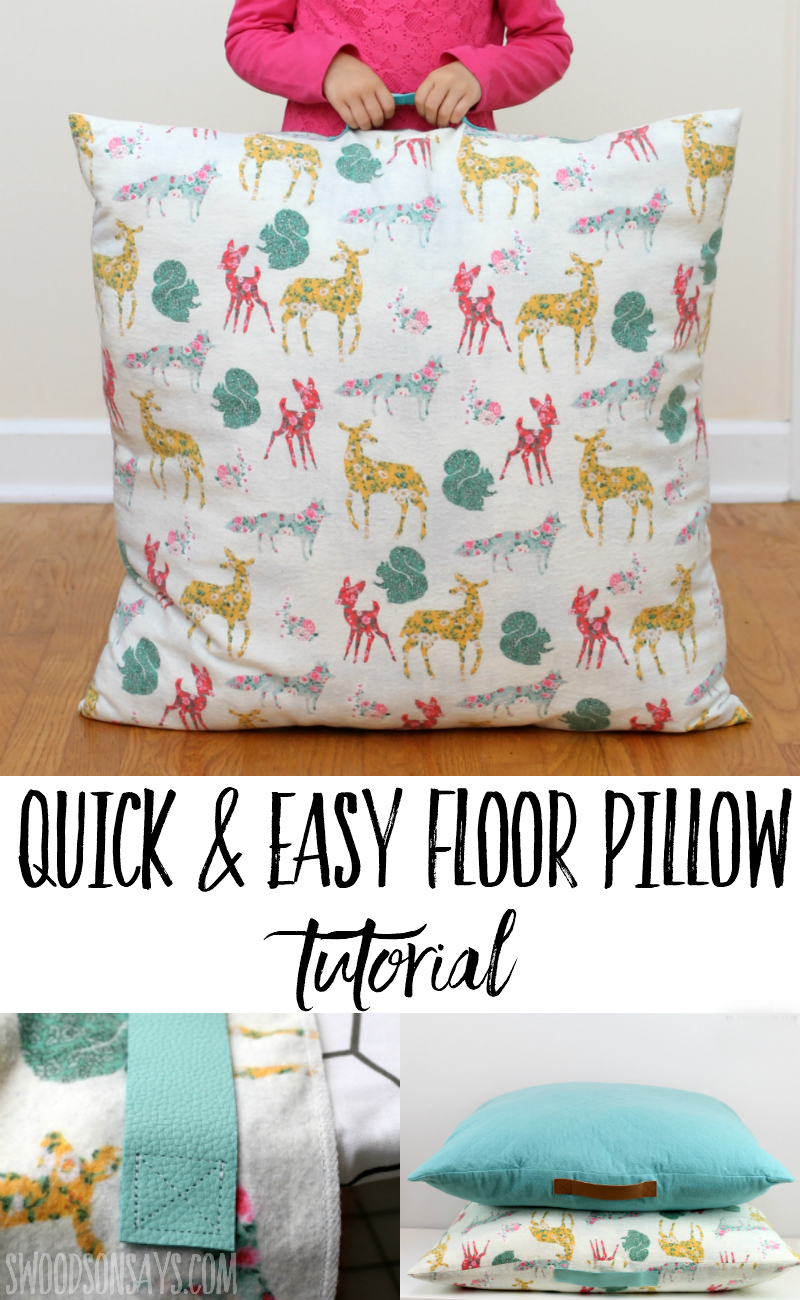 floor cushions diy. Sew Up Some Cozy, Flannel Floor Pillows For Fall With This Easy Sewing  Tutorial! Cushions Diy