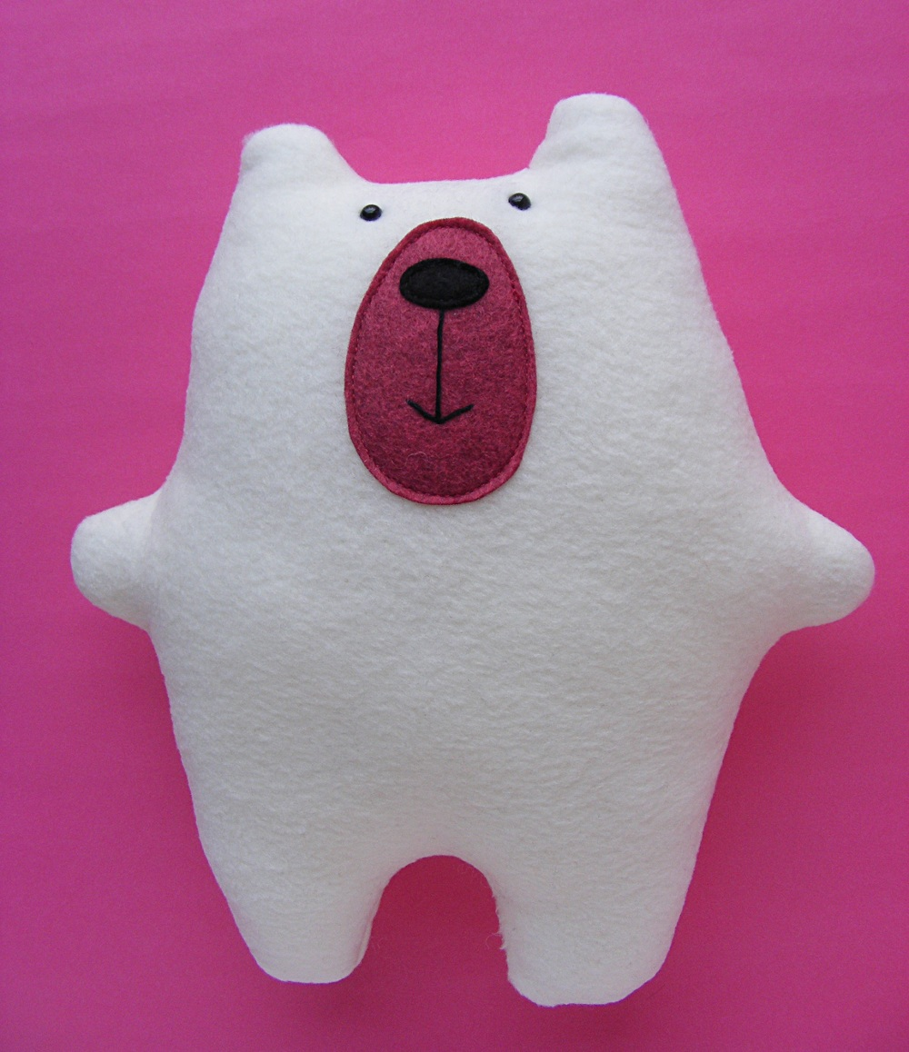 simple teddy bear sewing pattern free