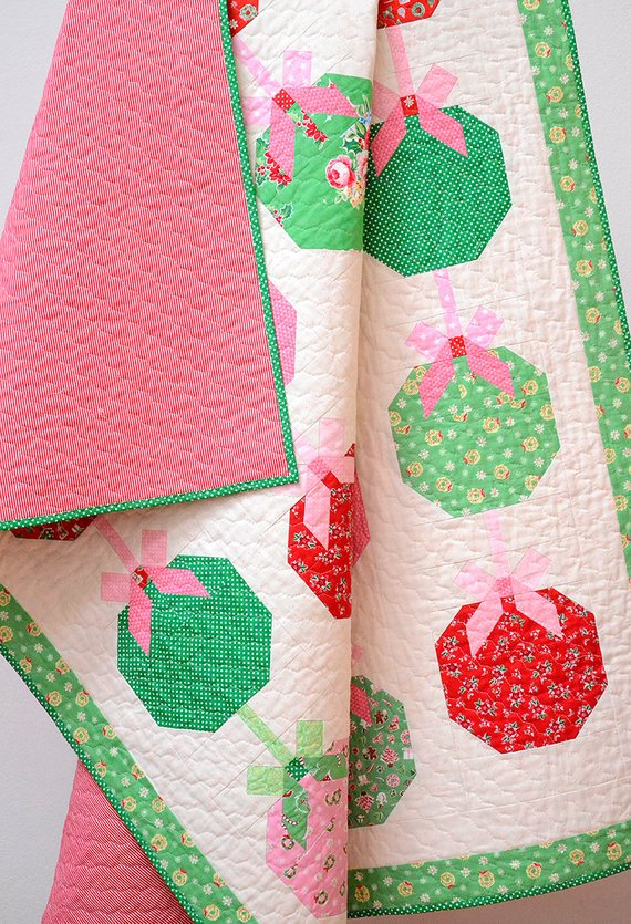christmas ornament quilt pattern