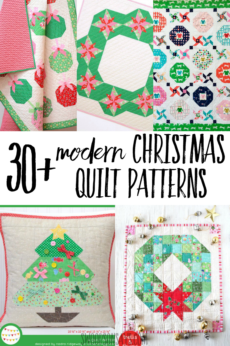 Christmas Quilt Patterns.30 Modern Christmas Quilt Patterns Swoodson Says