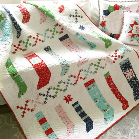 christmas stocking quilt