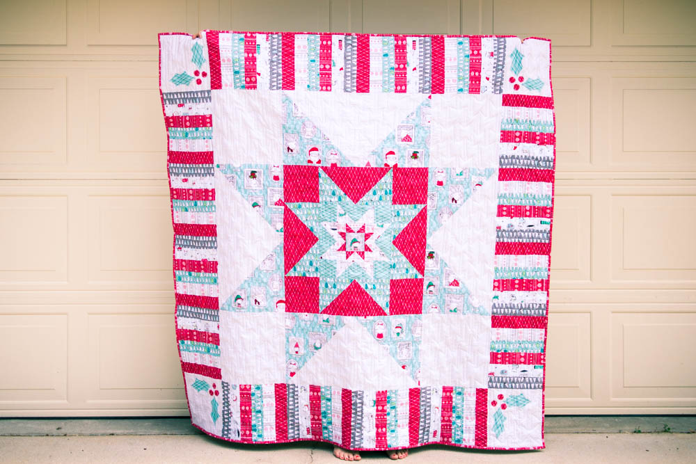 30 Modern Christmas Quilt Patterns Swoodson Says